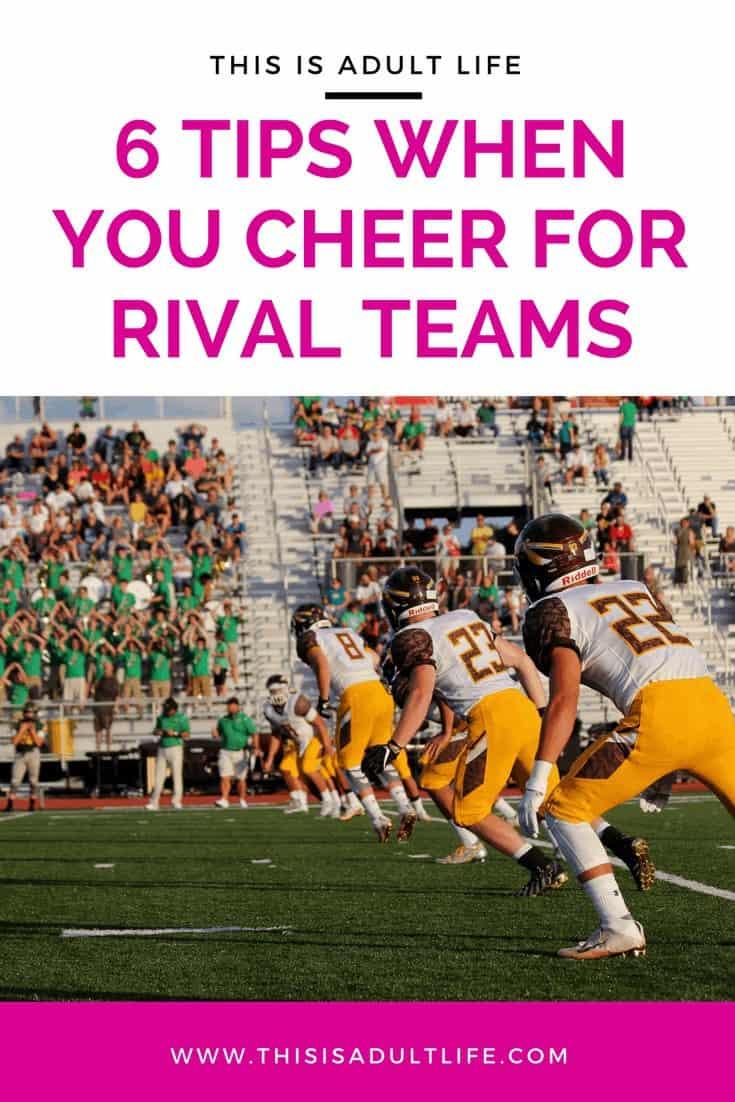 Rival teams relationship