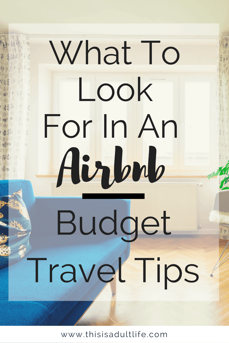 Tips When Booking an Airbnb