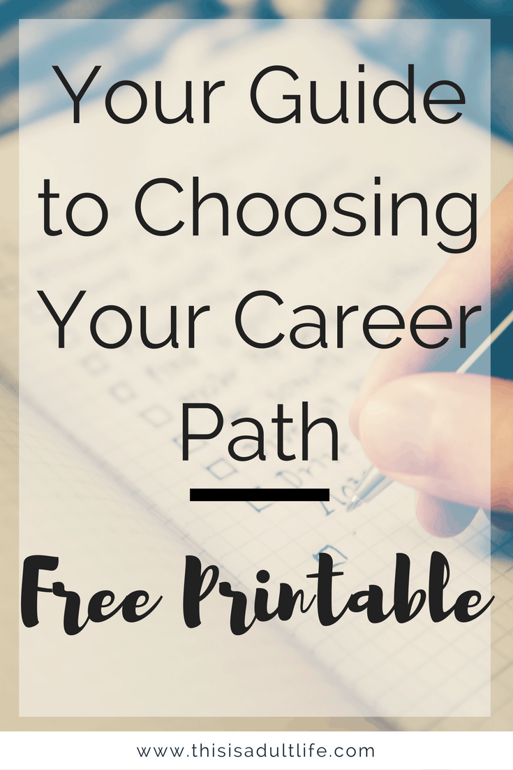 Choose your Career Path