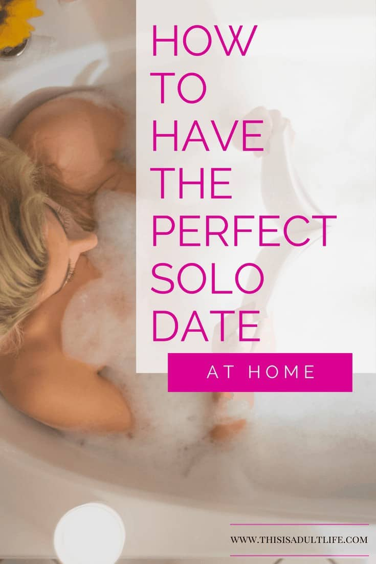 Recipe for the Perfect Solo Date
