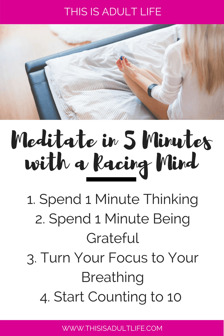 How to Meditate in 5 Minutes