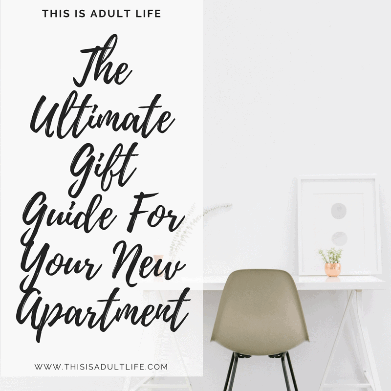 Gift Guide For Your New Apartment
