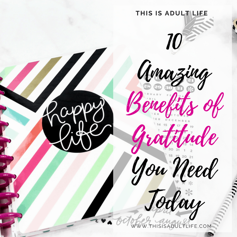 10 Benefits of Gratitude You Need