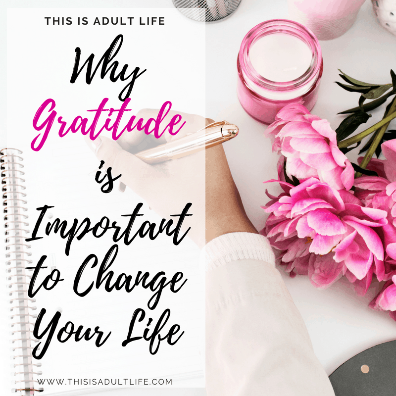 Why Gratitude is Important to Change Your Life