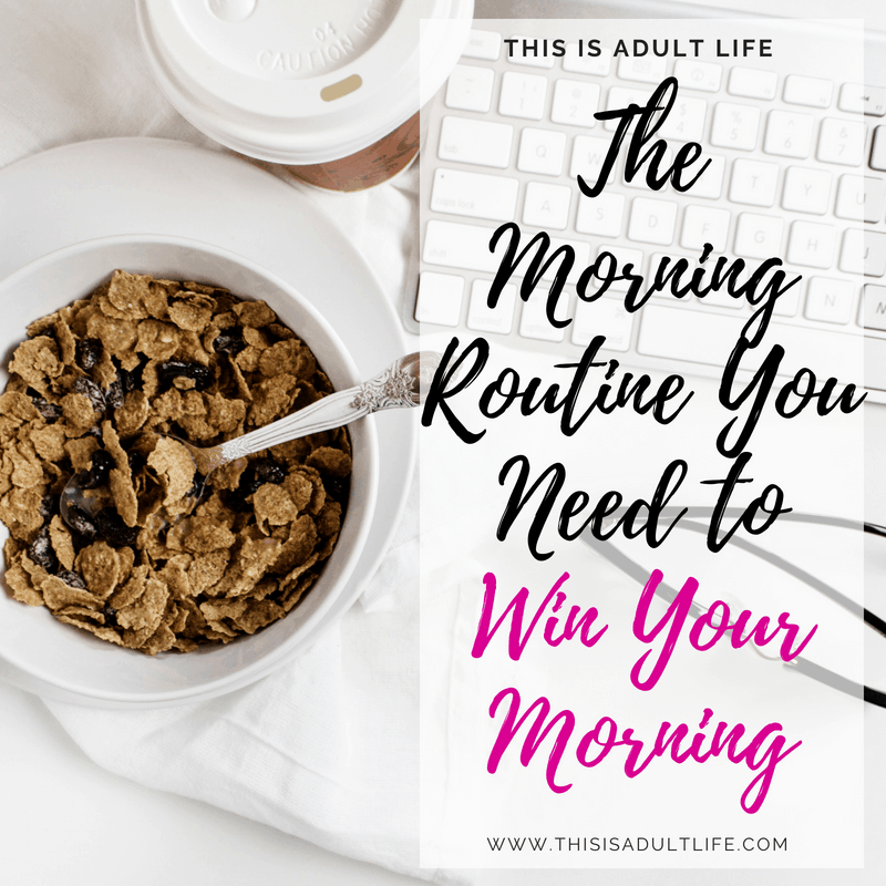 The Morning Routine You Need to Win Your Morning