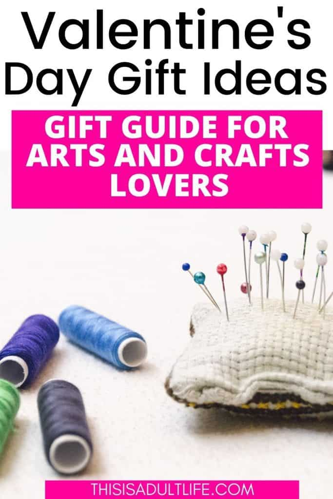 Valentine's Day ideas for art and craft lovers