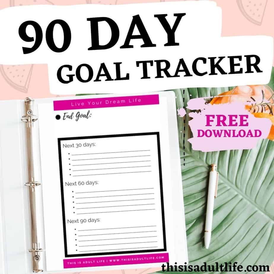 download free goal tracker